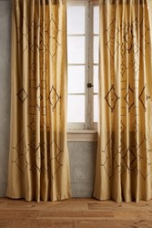Anthropologie Tura Curtain White