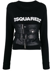 Dsquared2 Corseted Logo Sweatshirt 60