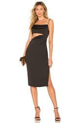 By The Way Erin Cut Out Midi Dress Black