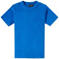 Howlin' Fonz Towel Pocket Tee Blue