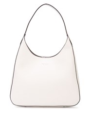 Kate Spade Contrast Piped Trim Shoulder Bag White