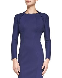 Zac Posen Stretch Jersey Bolette Navy