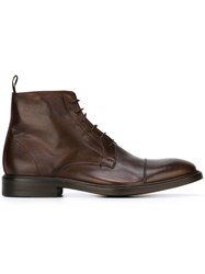 Paul Smith 'Jarman' Boots Brown