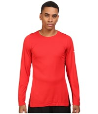 Nike Crossover 2.0 Long Sleeve Top University Red University Red White Men's Sweatshirt