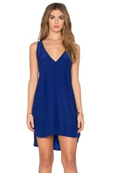 Amanda Uprichard Vita Dress Blue