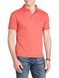 Ralph Lauren Polo Slim Fit Soft Touch Polo Shirt Western Red