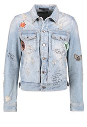 Just Cavalli Denim Jacket Blue Denim