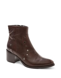 Andre Assous Felicity Leather Ankle Boots Brown
