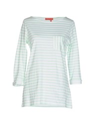 Manila Grace Denim Topwear T Shirts Women Light Green