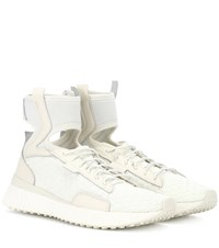 Fenty By Rihanna The Trainer Mid Sneakers White