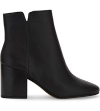 Aldo Sully Leather Ankle Boots Black Leather