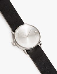 Tid Watches No. 2 Watch In Brushed Steel