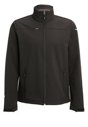 Icepeak Silver Soft Shell Jacket Black Anthracite