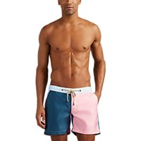 Thorsun Colorblocked Swim Trunks Navy