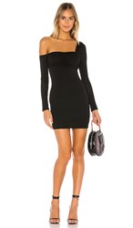 Privacy Please Iliana Mini Dress In Black.