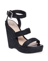 Vince Camuto Melisha Platform Wedge Sandals Black