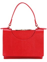 L'autre Chose Top Handle Tote Red