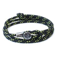 Anchor And Crew All Black Dundee Rope Bracelet
