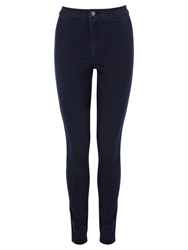 Warehouse High Rise Skinny Jeans Indigo Denim
