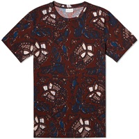 Dries Van Noten Hysom Print Tee Bordeaux