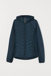 Handm H M Padded Outdoor Jacket Turquoise