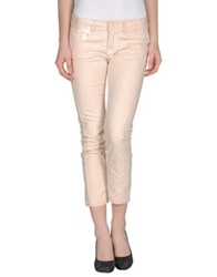 Pinko Denim Capris Light Pink