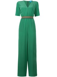 Mih Jeans Band Jumpsuit Green