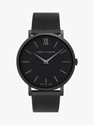 Larsson And Jennings Unisex Ljxii Bracelet Strap Watch Black