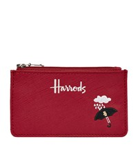Harrods London Icons Umbrella Card Holder Red