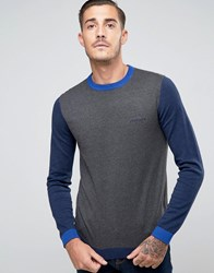 Lambretta Knitted Jumper Grey