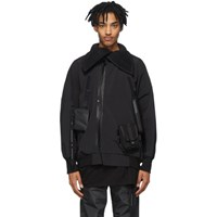 Julius Black Multi Pocket Jacket