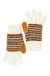 Barbour Rawfoot Lambswool Gloves White
