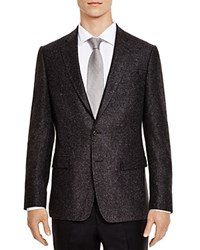 The Men's Store At Bloomingdale's Charcoal Donegal Slim Fit Sport Coat
