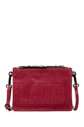 L.A.M.B. Harriet Crossbody Bag Red
