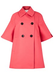 Schumacher Pink Cotton Twill Coat