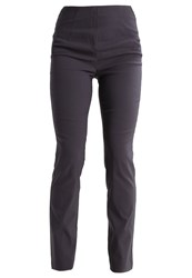 Anna Field Trousers Anthrazite Mottled Anthracite