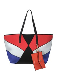 Cynthia Rowley Hayden Colorblocked Tote Black Multi