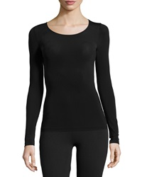 Wolford Buenos Aires Long Sleeve Pullover Top Black
