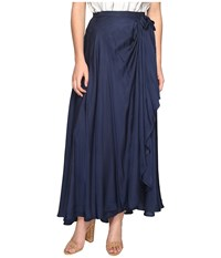 The Jetset Diaries Iris Maxi Skirt Navy Women's Skirt