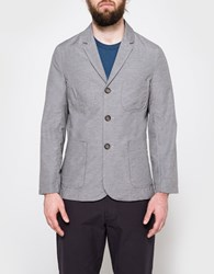 Universal Works Suit Jacket Grey Marl
