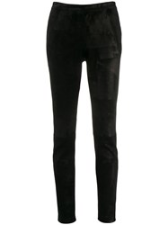 Fabiana Filippi Classic Skinny Fit Trousers Black