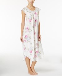 Charter Club Lace Trimmed Nightgown Only At Macy's Rose Bouquet