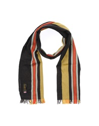 Henri Lloyd Oblong Scarves Dark Brown