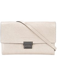 Brunello Cucinelli Buckled Cross Body Bag Metallic