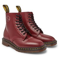 Undercover Dr. Martens 1460 Printed Leather Boots Red
