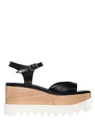 Stella Mccartney 75Mm Elyse Faux Leather Sandals