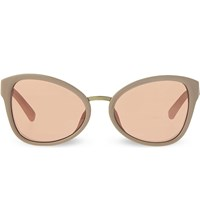 3.1 Phillip Lim Pl102 Cat Eye Sunglasses Camel And Bronze