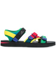 Paul Smith Ps By Formosa Strap Sandals Multicolour
