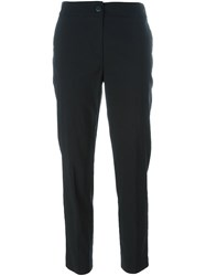 Twin Set Stretch Slim Fit Trousers Black