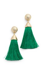 Rosantica Mini Teatro Earrings Green